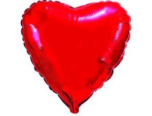 Гелевый шар Сердце Киев
